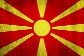 pic of macedonia  - National flag of Macedonia - JPG