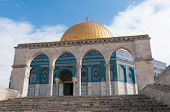 pic of israel people  - The Dome of the Rock Jerusalem Israel located on the Temple Mount - JPG