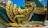 image of serpent  - king of Naga statue - JPG