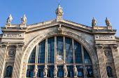 foto of gare  - Facade of Gare du Nord in Paris - JPG