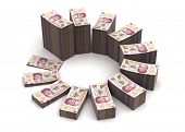 foto of pesos  - Mexican Pesos Chart  - JPG