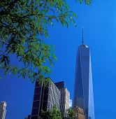 stock photo of freedom tower  - New York City  - JPG
