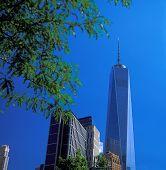 stock photo of freedom tower  - New York City  - JPG