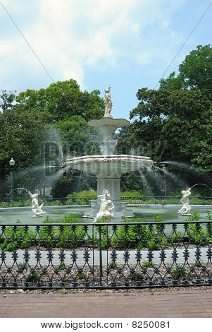 Forsyth Park Fountain