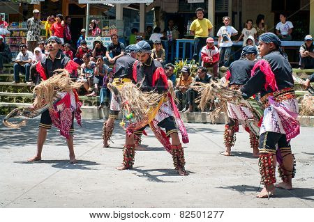 Javanese traditional dancers, Indonesia