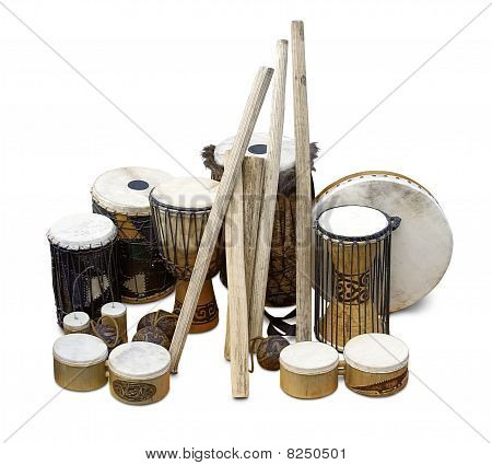 Exotic drums