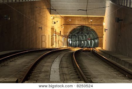 Metro Tunnel In The City