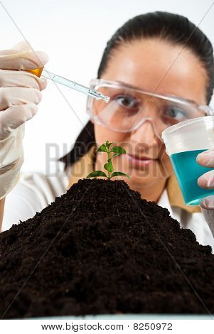 Biologist Woman