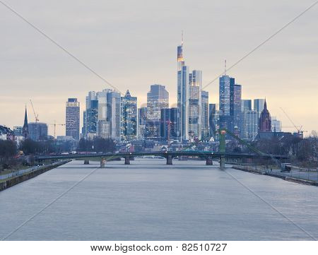 Frankfurt am Main city