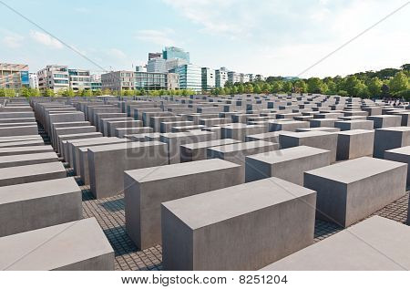 The Jewish Memorial In Central Berlin
