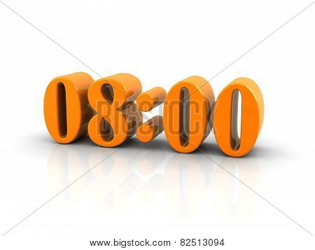 Time 8 O'clock