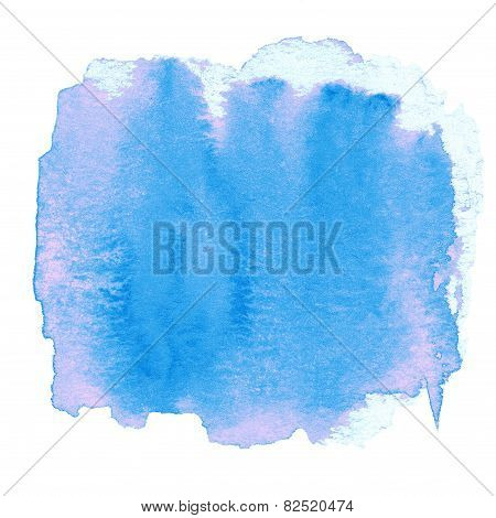 Watercolor Abstract Hand Painted Textured Wet Ink  Spot For Background. Beautiful Watercolor Backdro