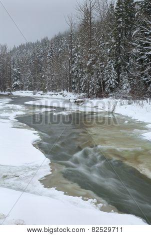 Mountain Fresh Winter Stream
