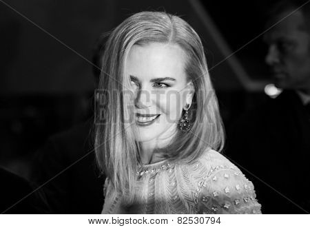 BERLIN, GERMANY - FEBRUARY 06: Nicole Kidman attend the 'Queen of the Desert' during the 65th Film Festival at Berlinale Palace,  February 6, 2015 in Berlin, Germany.