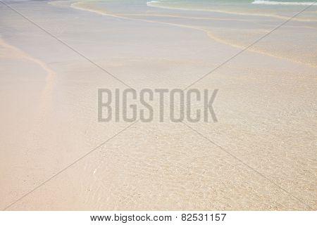Shallow Transparent Water
