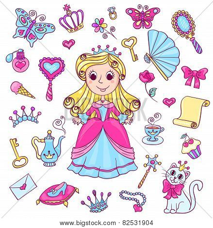 Cute Princess Set