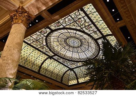 Plaza Hotel Ceiling, New York