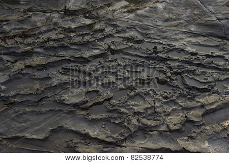 Dark Rock Texture. Stone Background