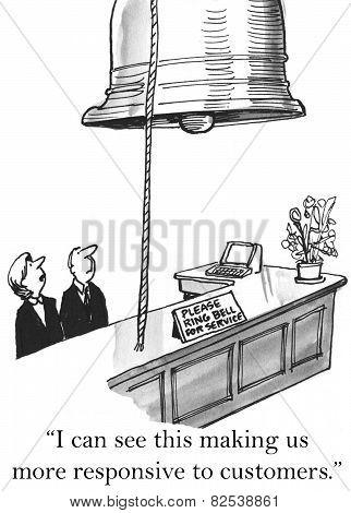 Customer Service - Responsive