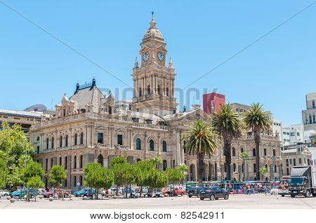 City Hall In Cape Town, South Africa