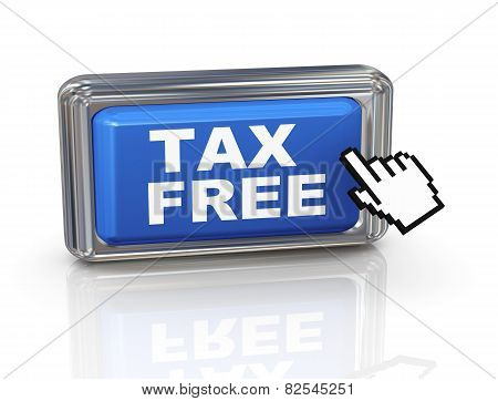 3D Hand Cursor Button - Tax Free