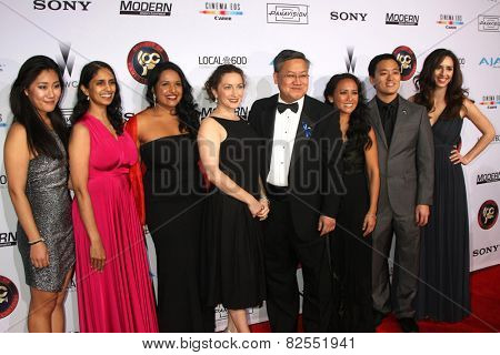 LOS ANGELES - FEB 8:  Children's Hospital of Los Angeles Staff at the 2015 Society Of Camera Operators Lifetime Achievement Awards at a Paramount Theater on February 8, 2015 in Los Angeles, CA