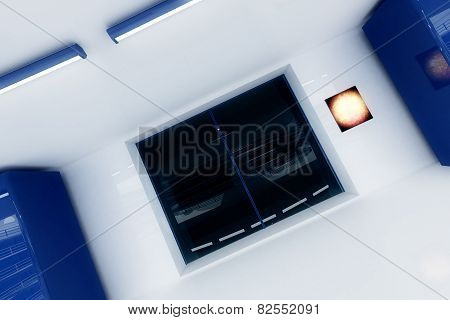 Ultra Modern Buidling Corridor