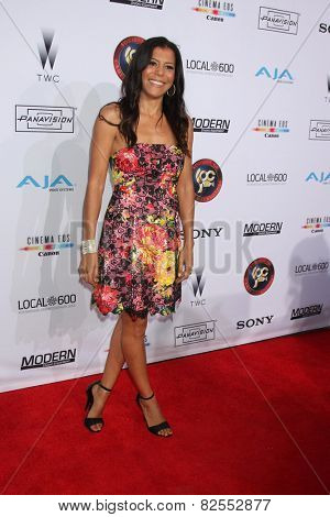 LOS ANGELES - FEB 8:  Susan Santiago at the 2015 Society Of Camera Operators Lifetime Achievement Awards at a Paramount Theater on February 8, 2015 in Los Angeles, CA