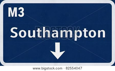 Southampton Highway Road Sign