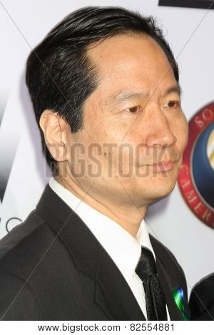 LOS ANGELES - FEB 8:  Charles Rahi Chu at the 2015 Society Of Camera Operators Lifetime Achievement Awards at a Paramount Theater on February 8, 2015 in Los Angeles, CA
