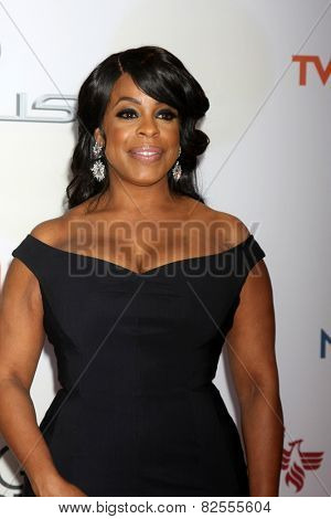 LOS ANGELES - FEB 6:  Niecy Nash at the 46th NAACP Image Awards Arrivals at a Pasadena Convention Center on February 6, 2015 in Pasadena, CA