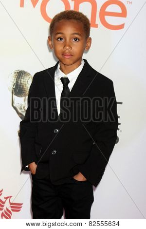 LOS ANGELES - FEB 6:  Genis Wooten at the 46th NAACP Image Awards Arrivals at a Pasadena Convention Center on February 6, 2015 in Pasadena, CA