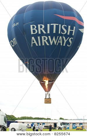 Balloon at Newcastle Airport 75th Anniversary