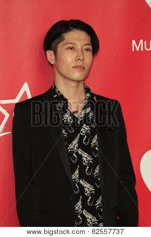 LOS ANGELES - FEB 6:  Miyavi at the MusiCares 2015 Person Of The Year Gala at a Los Angeles Convention Center on February 6, 2015 in Los Angeles, CA