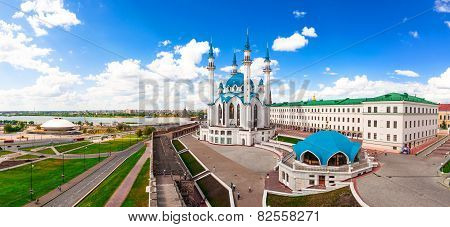 Kul-Sharif Mosque In Kazan