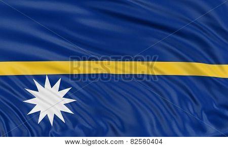3D Nauru flag