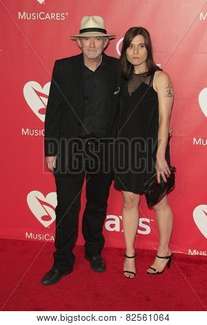LOS ANGELES - FEB 6:  Benmont Tench, Alice Carbone at the MusiCares 2015 Person Of The Year Gala at a Los Angeles Convention Center on February 6, 2015 in Los Angeles, CA