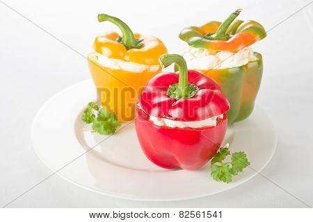 Filled pepper