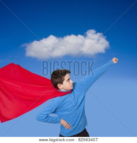 young prepared Superman