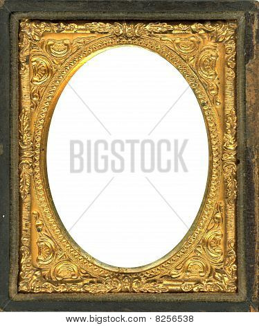 Daguerreotype Frame With Clipping Path