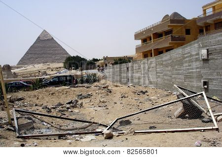 Egypt Travel Photos - The Great Pyramids In Giza