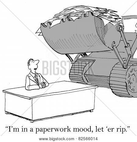 Paperwork Mood