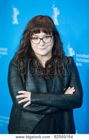 BERLIN, GERMANY - FEBRUARY 05:  Isabel Coixet  attend the 'Nobody Wants the Night', photo call. 65th Berlinale International Film Festival at Grand Hyatt Hotel on February 5, 2015 in Berlin, Germany.