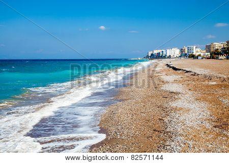 Rhodes Beach Greece