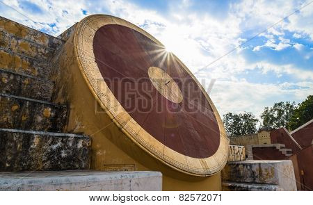Astronomical Instrument At Jantar Mantar Observatory - Jaipur, India