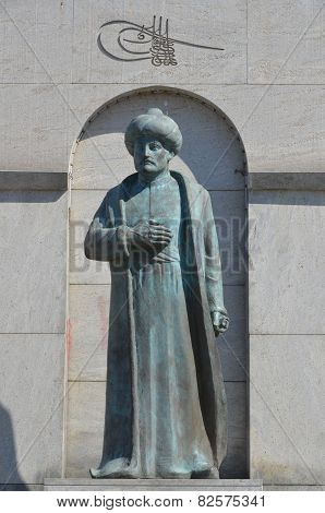 Statue of Fatih sultan mehmed