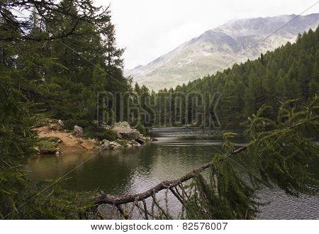 Scenic View Of Lago Azzurro