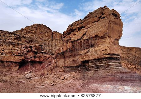 Travel Photos Of Israel -timna Park And King Solomon's Mines