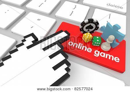 Online Game Enter Key