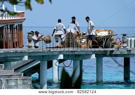 Supply In The Maldives